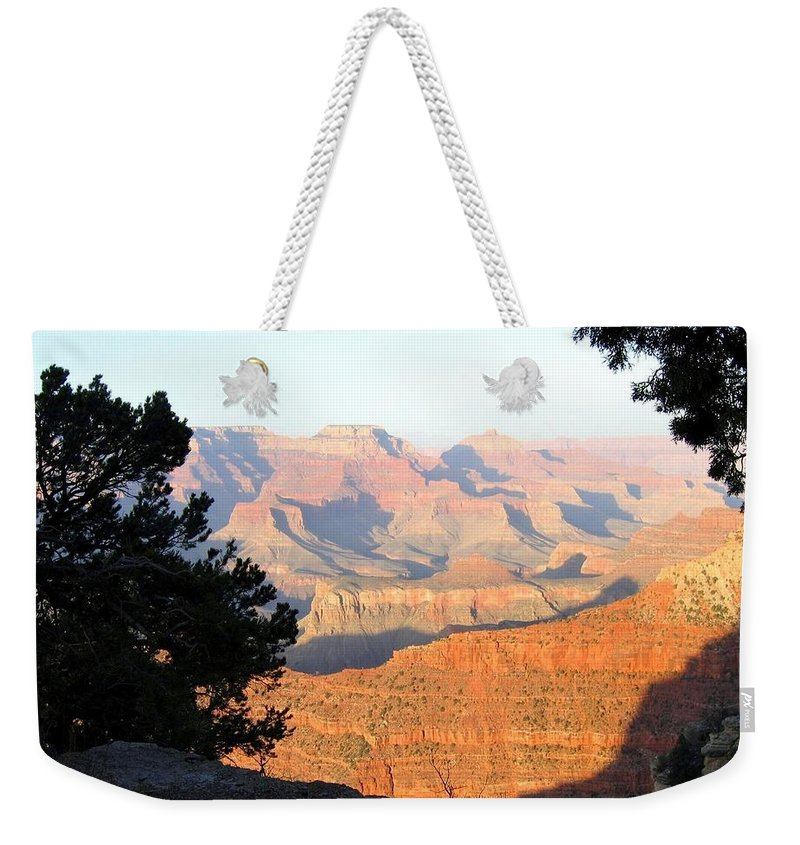 Grand Canyon Weekender Tote Bag featuring the photograph Grand Canyon 59 by Will Borden
