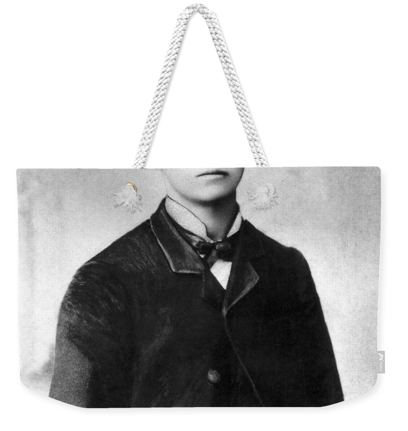 19th Century Weekender Tote Bag featuring the photograph Grattan Dalton (1864-1892) by Granger