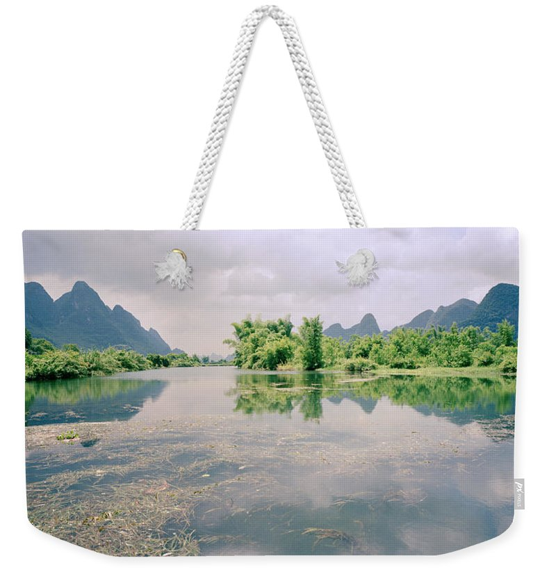 China Weekender Tote Bag featuring the photograph Guangxi In China by Shaun Higson