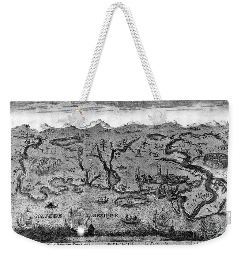 1720 Weekender Tote Bag featuring the photograph Gulf Coast, C1720 by Granger