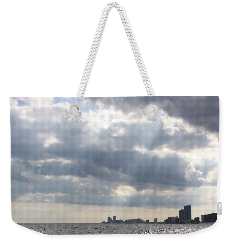 Gulf Of Mexico Weekender Tote Bag featuring the photograph Gulf Of Mexico - Gulf Sunshine by Travis Truelove