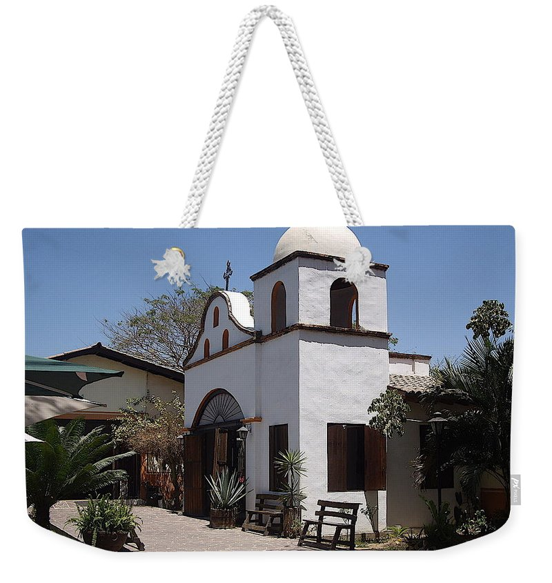 Aimee Mouw Weekender Tote Bag featuring the photograph Hacienda by Aimee Mouw