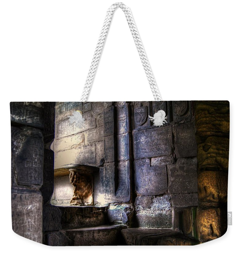 Art Weekender Tote Bag featuring the photograph Halfway by Yhun Suarez