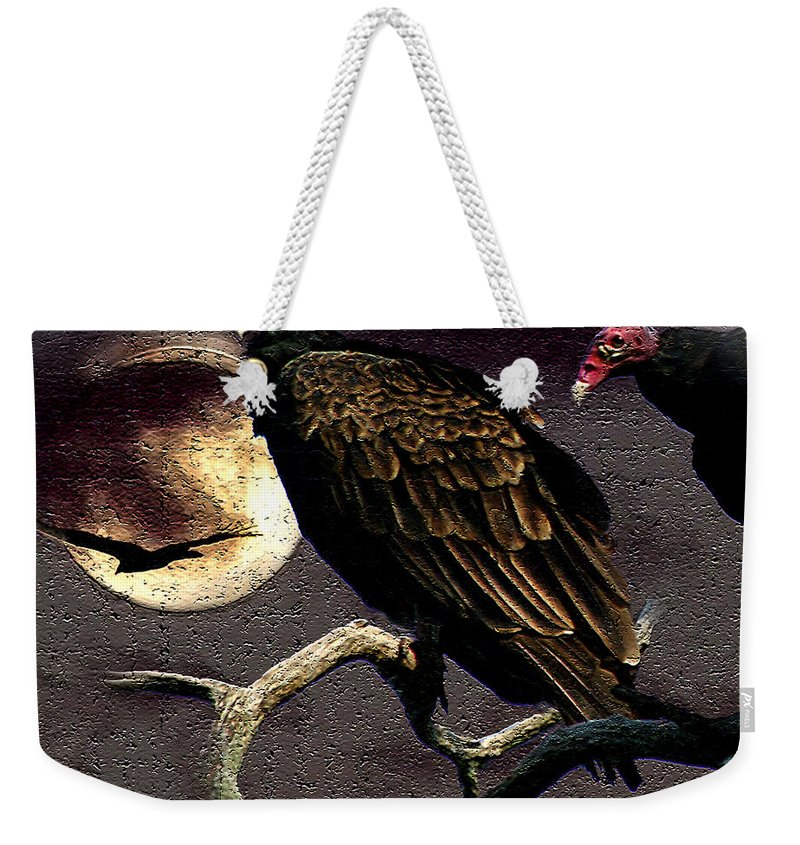 Photography Weekender Tote Bag featuring the photograph Halloween Hunger by Jenny Gandert