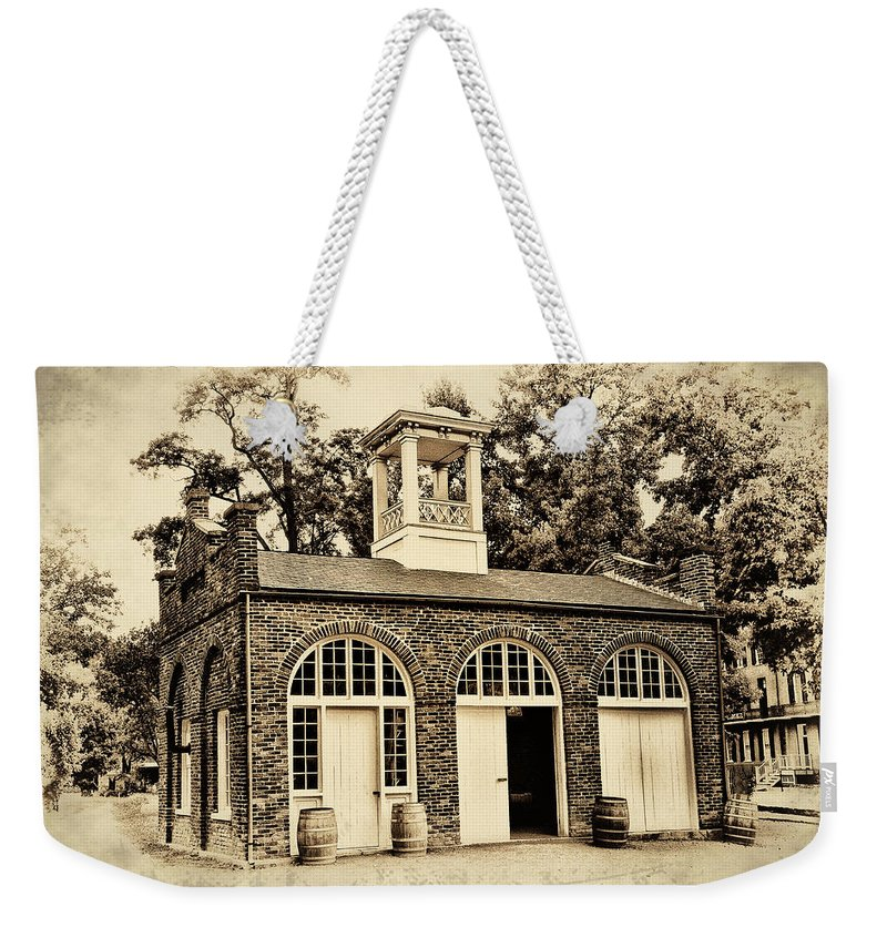 Harpers Ferry Armory Weekender Tote Bag featuring the photograph Harpers Ferry Armory by Bill Cannon