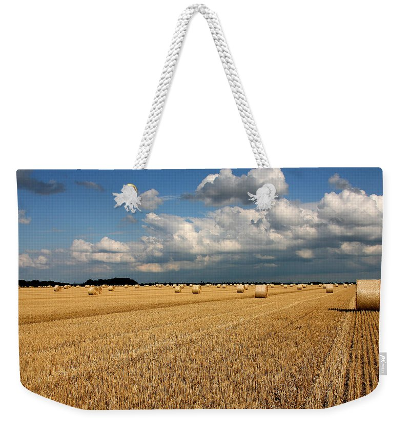 Harvest Weekender Tote Bag featuring the photograph Harvest by Ralf Kaiser