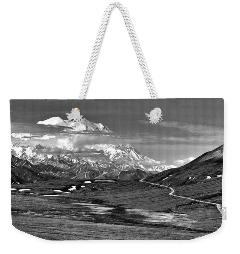 Headed To Mckinley Weekender Tote Bag featuring the photograph Headed To Mckinley by Wes and Dotty Weber