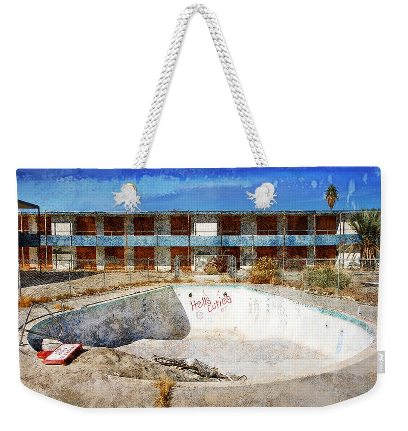 Hell's Cuties Weekender Tote Bag featuring the photograph Hell's Cuties by Dominic Piperata