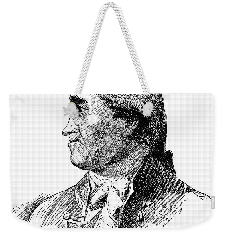 18th Century Weekender Tote Bag featuring the photograph Henry Flood (1732-1791) by Granger
