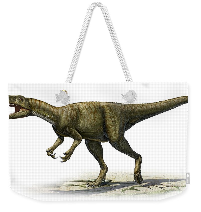 Herrerasaurus Ischigualastensis Weekender Tote Bag For Sale By