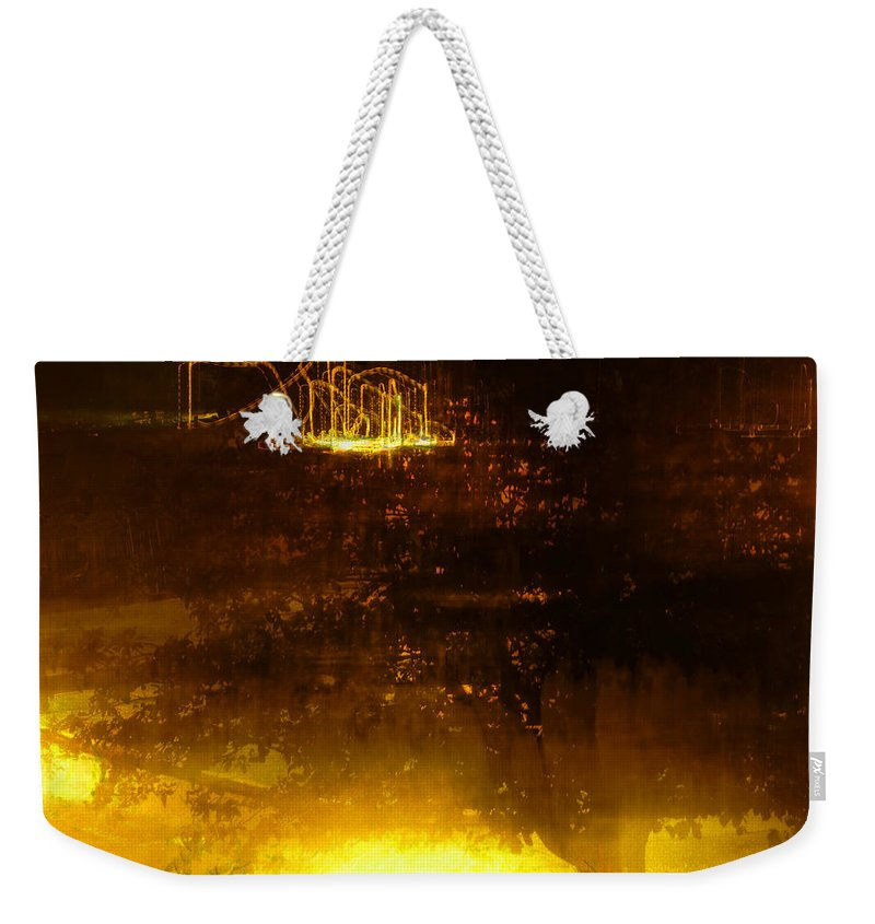 Disneyland Weekender Tote Bag featuring the photograph Hidden Attractions by Steve Taylor