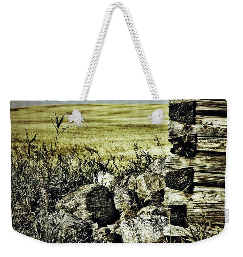 Photographer Weekender Tote Bag featuring the photograph Hidden From Stones by The Artist Project