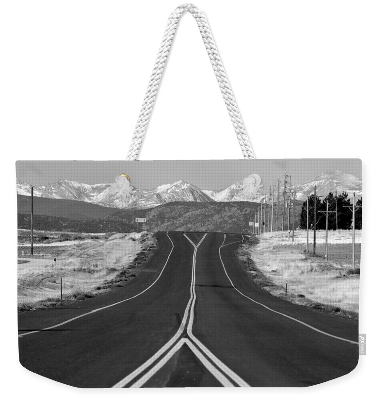 *highway Weekender Tote Bag featuring the photograph Highway 52  by James BO Insogna