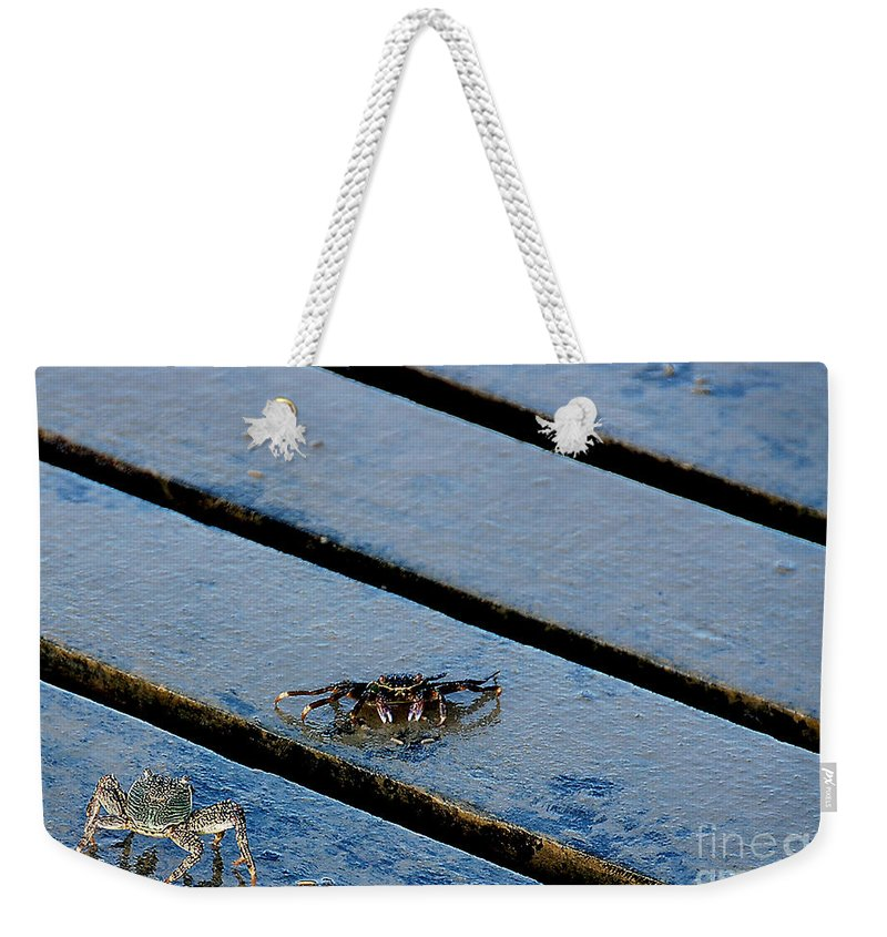 Art Weekender Tote Bag featuring the photograph Highway That Way by Ivy Ho