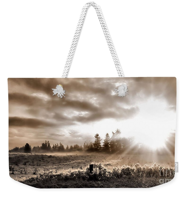 Landscape Weekender Tote Bag featuring the photograph Hope II by Rory Sagner