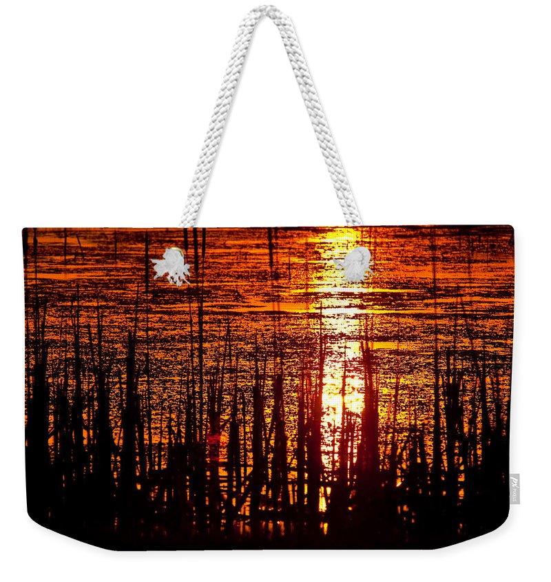 Horicon Marsh Weekender Tote Bags