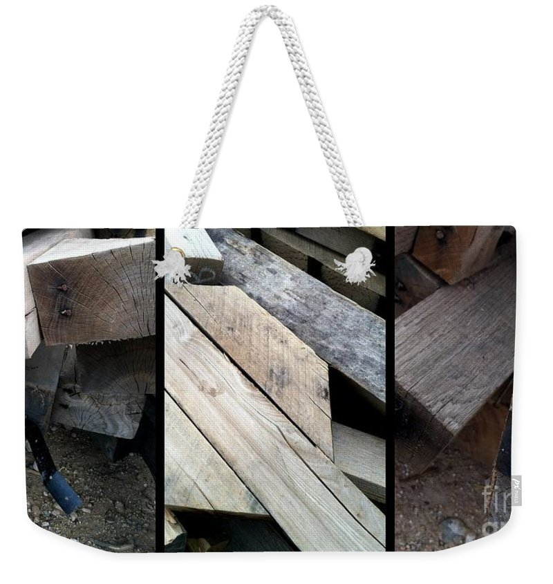 Boards Weekender Tote Bag featuring the photograph I Am Board by Marlene Burns