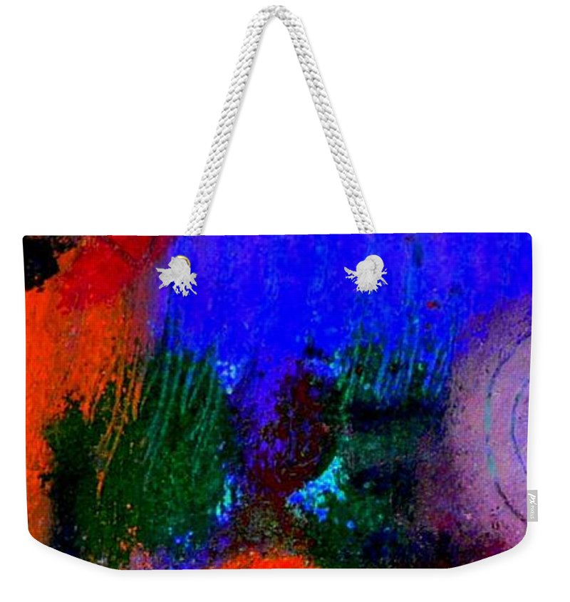 Women Weekender Tote Bag featuring the painting I Still Dream by Angela L Walker