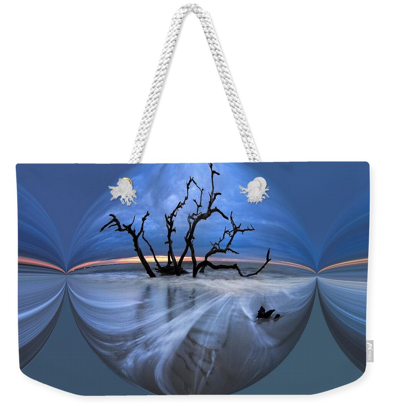 Clouds Weekender Tote Bag featuring the photograph I Would Go To The Ends Of The Earth For You by Debra and Dave Vanderlaan