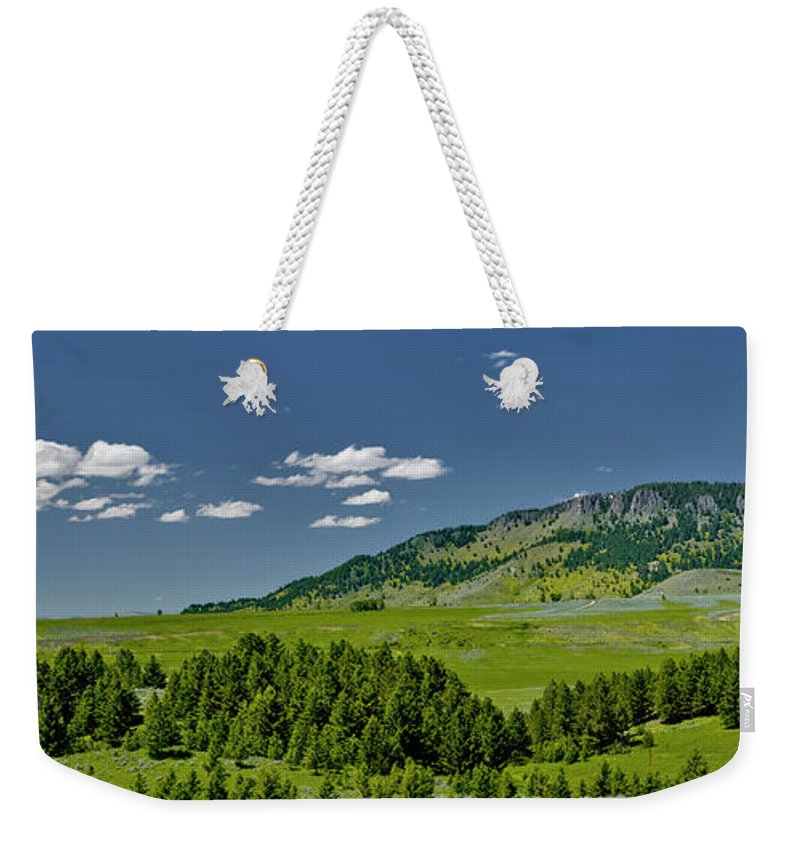 Americas Weekender Tote Bag featuring the photograph Ibex Peak by Roderick Bley