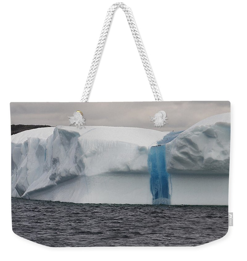 Iceberg Weekender Tote Bag featuring the photograph Iceberg by Eunice Gibb