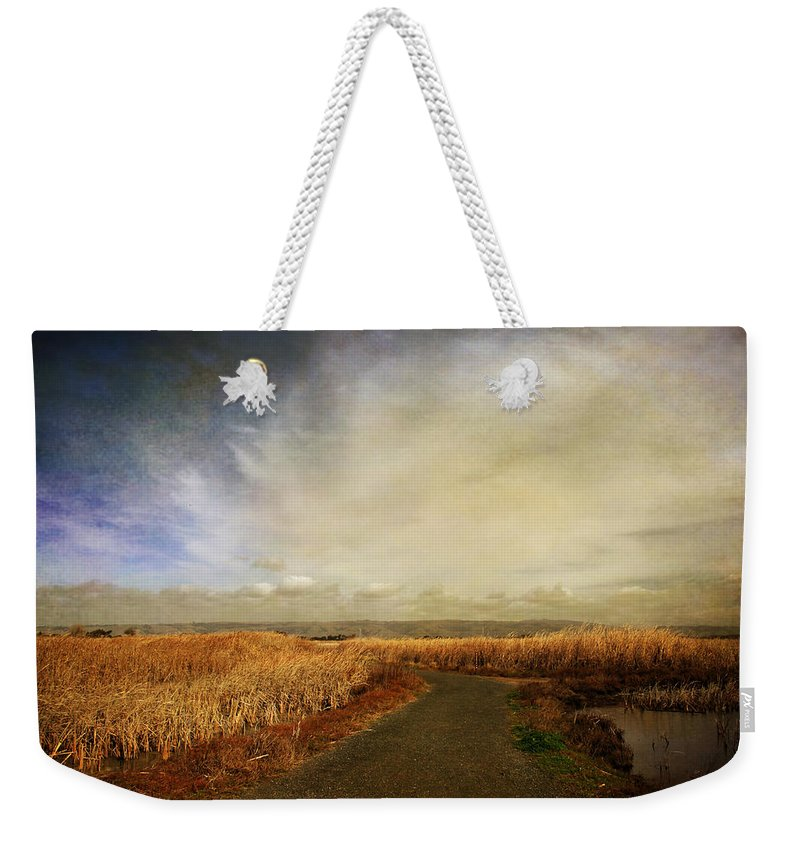 Landscape Weekender Tote Bag featuring the photograph If I Could See Into The Future by Laurie Search