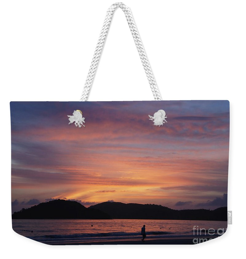Art Weekender Tote Bag featuring the photograph In Conversation by Ivy Ho