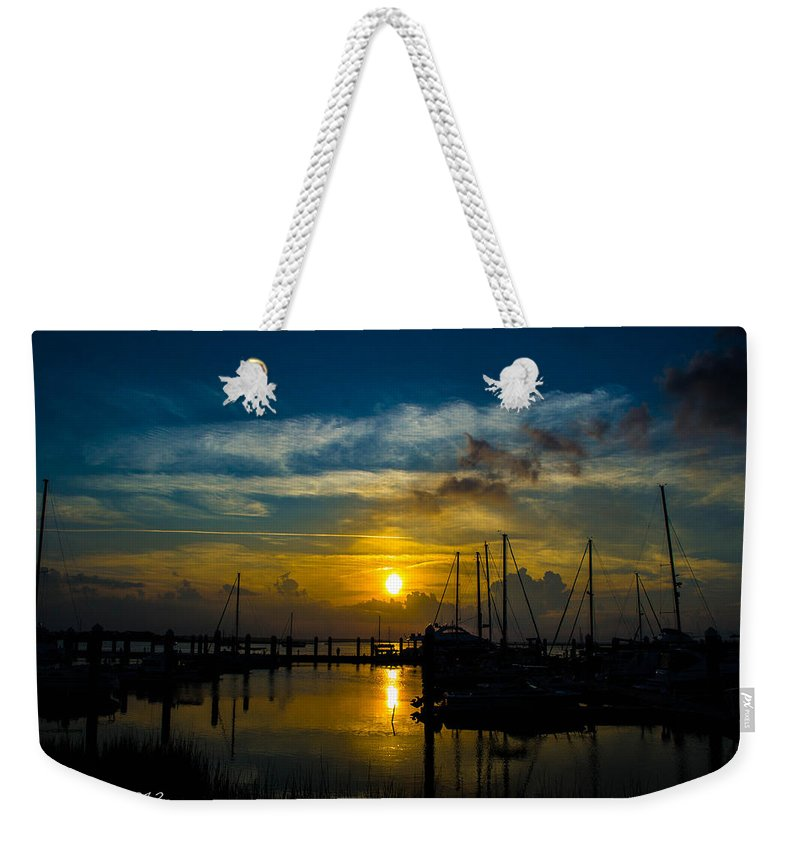 Night Weekender Tote Bag featuring the photograph In For The Night by Shannon Harrington