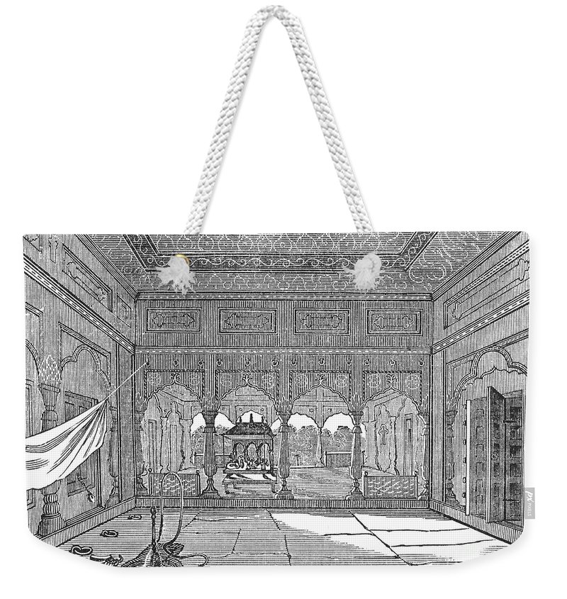1849 Weekender Tote Bag featuring the photograph India: Hindu Temple by Granger