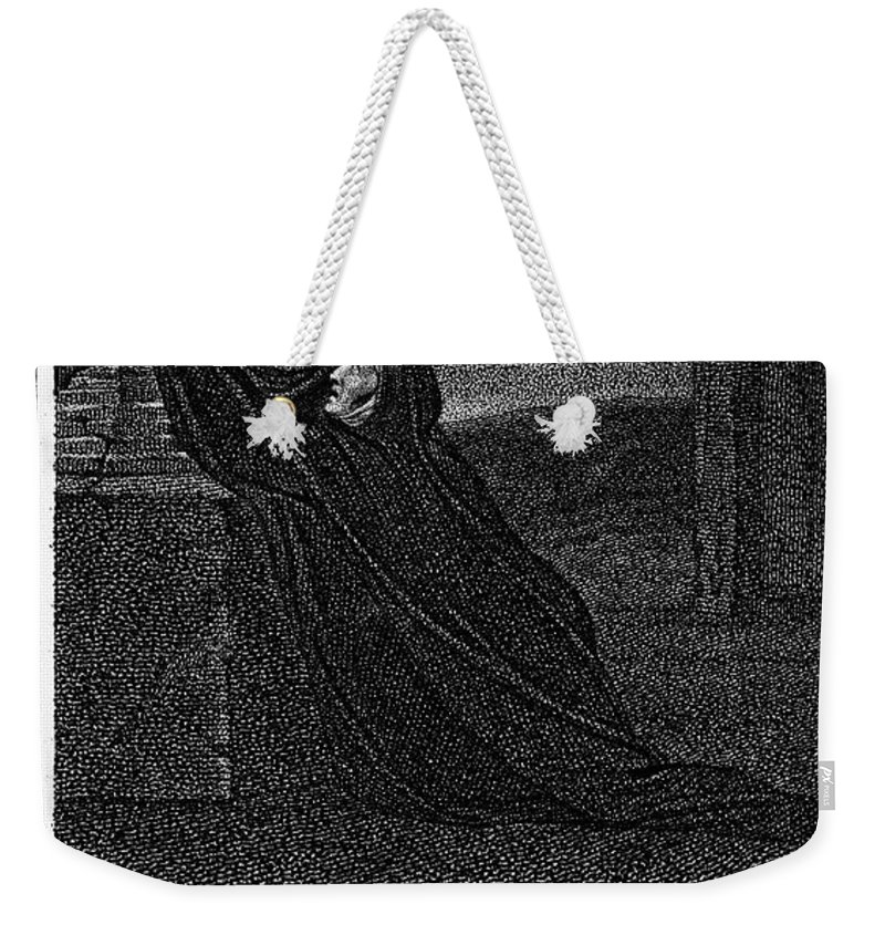 1785 Weekender Tote Bag featuring the photograph Invocation To Melancholy by Granger
