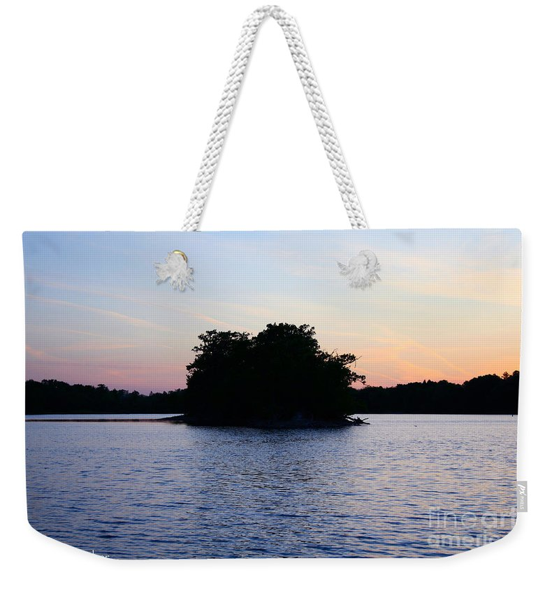 Outdoors Weekender Tote Bag featuring the photograph Island Evening by Susan Herber