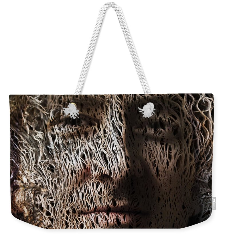 Jack Weekender Tote Bag featuring the painting Jack In The Green by Christopher Gaston