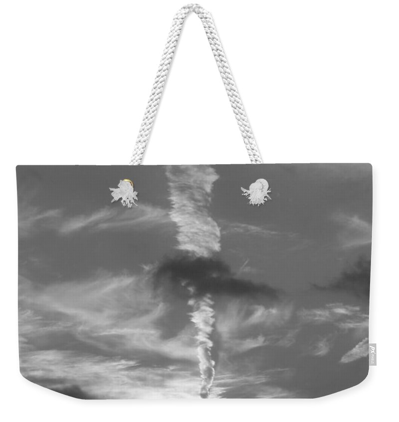 Bw Weekender Tote Bag featuring the photograph January 11 2009 by Mark Gilman