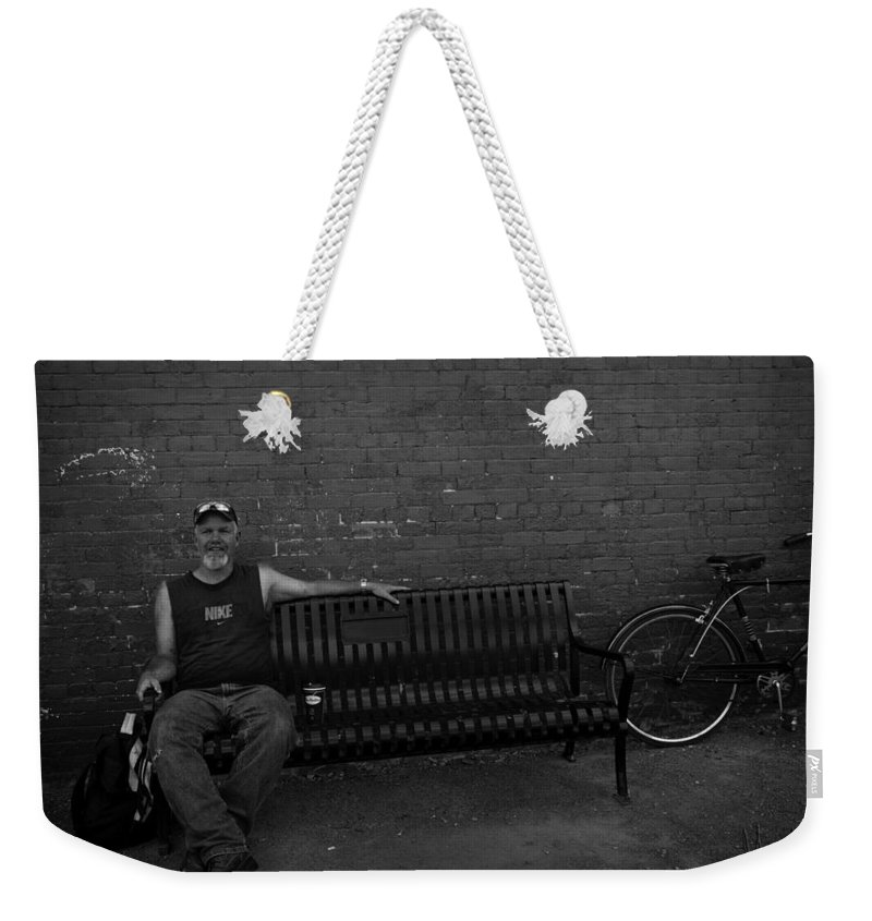 Acrylic Prints Weekender Tote Bag featuring the photograph Joey Again by John Herzog