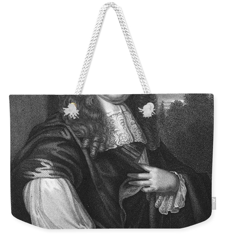 1st Weekender Tote Bag featuring the photograph John Maitland (1616-1682) by Granger