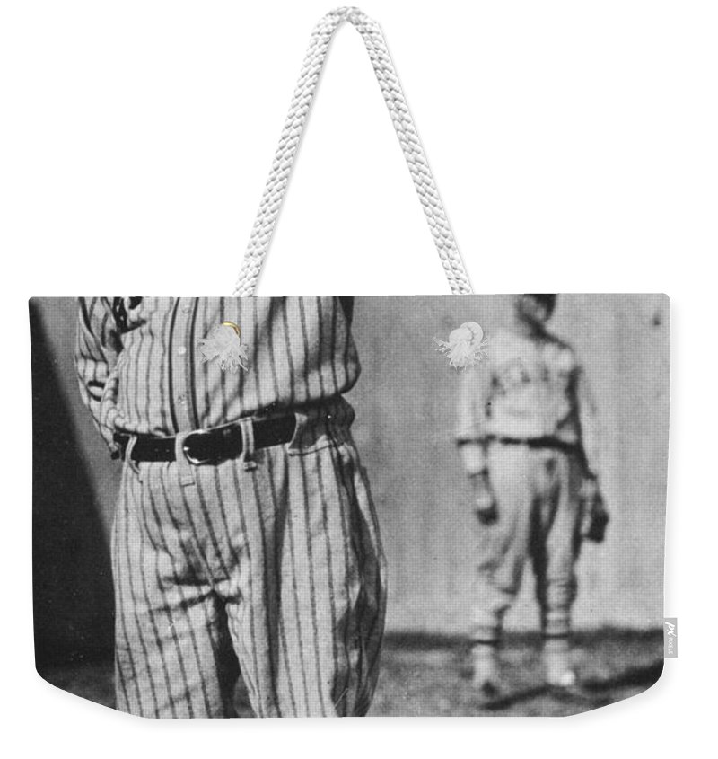 20th Century Weekender Tote Bag featuring the photograph John Mcgraw (1873-1934) by Granger