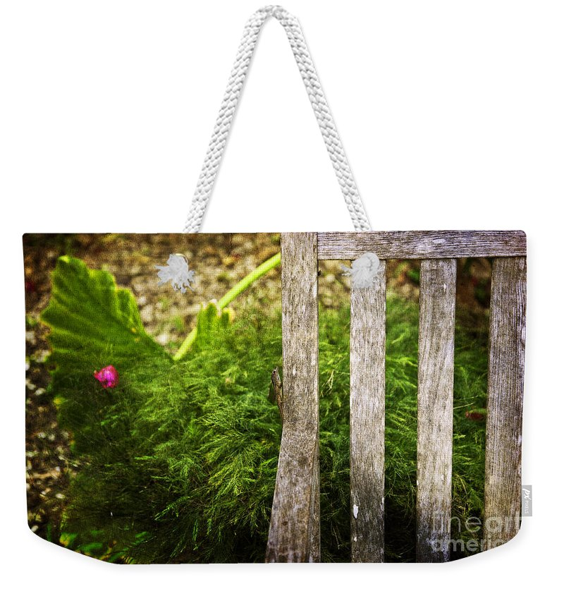Bug Weekender Tote Bag featuring the photograph Journey by Madeline Ellis