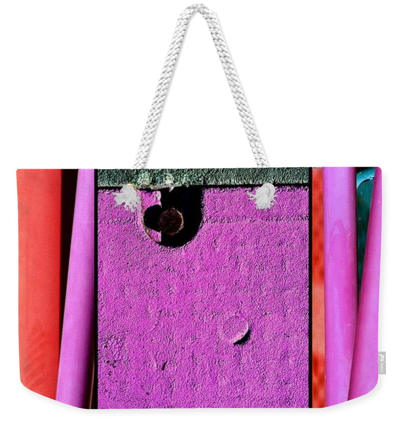 Marlnee Burns Weekender Tote Bag featuring the photograph Jungle Gym Too by Marlene Burns