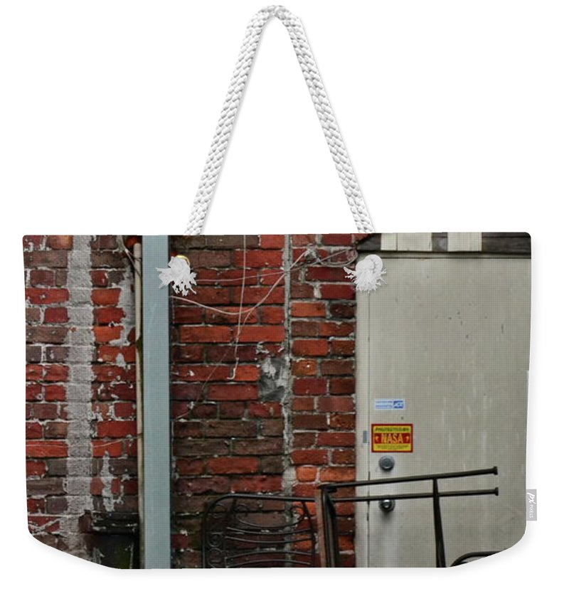 Junk Weekender Tote Bag featuring the photograph Junk by Carol Bradley
