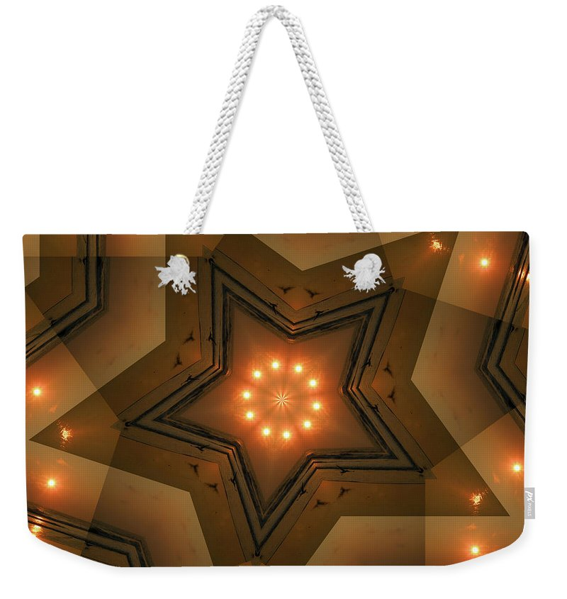 Star Weekender Tote Bag featuring the photograph Kendall by Trish Tritz