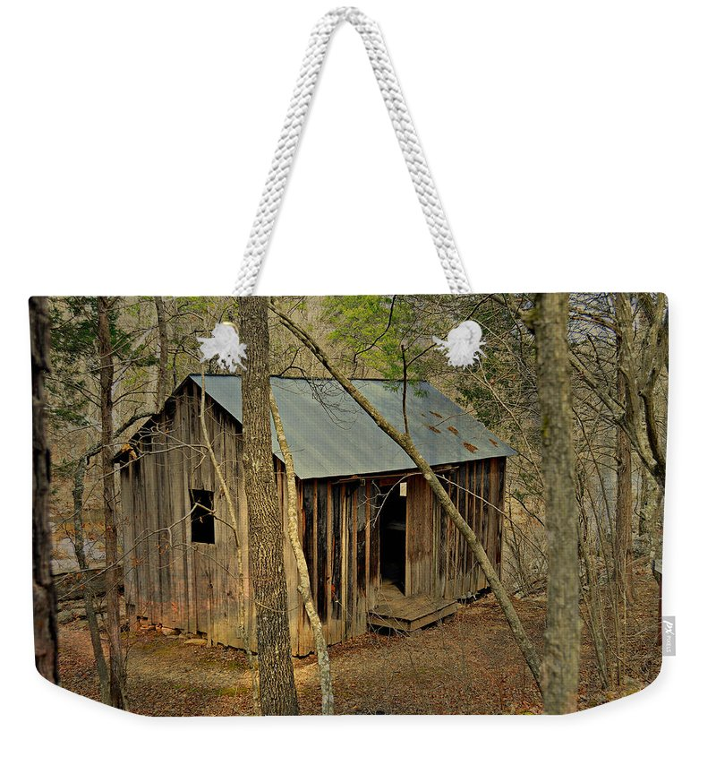Mill Weekender Tote Bag featuring the photograph Klepzig Mill 3 by Marty Koch
