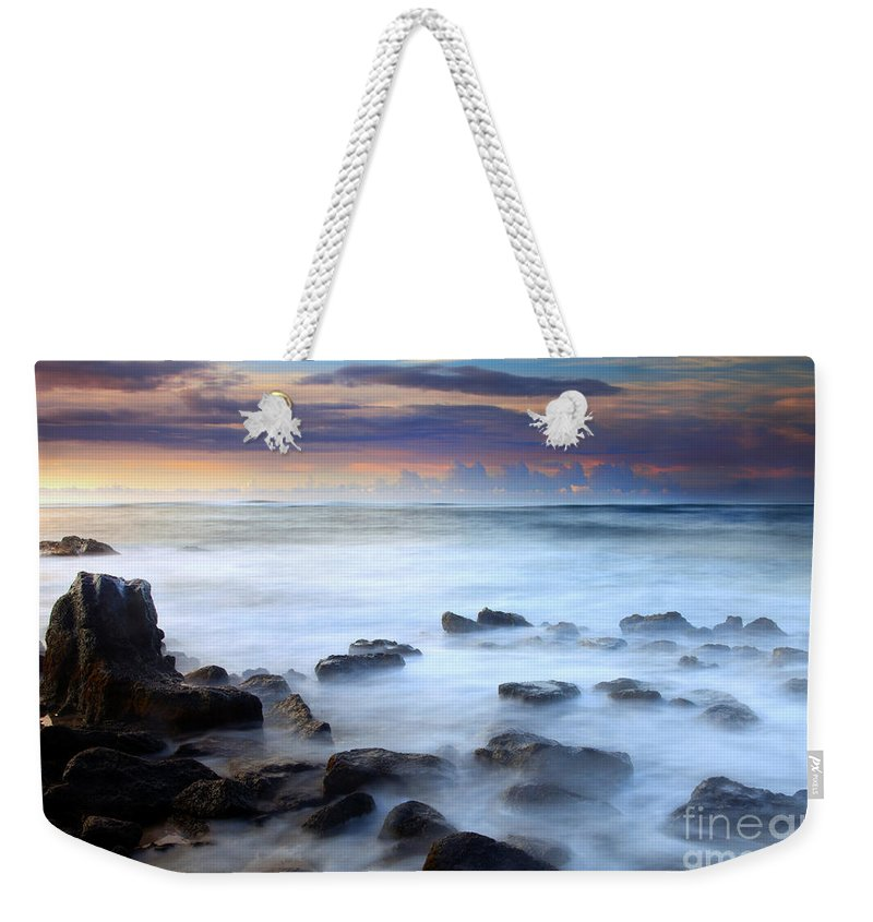 Kauai Weekender Tote Bag featuring the photograph Koloa Dawning by Mike Dawson