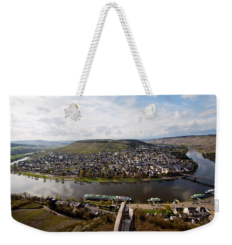 Kues Germany Weekender Tote Bag featuring the photograph Kues Germany by Bill Lindsay