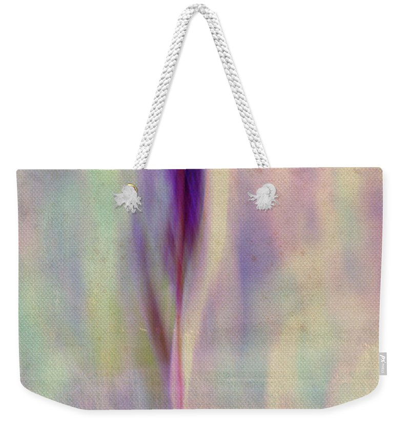 Pastel Weekender Tote Bag featuring the photograph L Epi - S06-02ft01 by Variance Collections