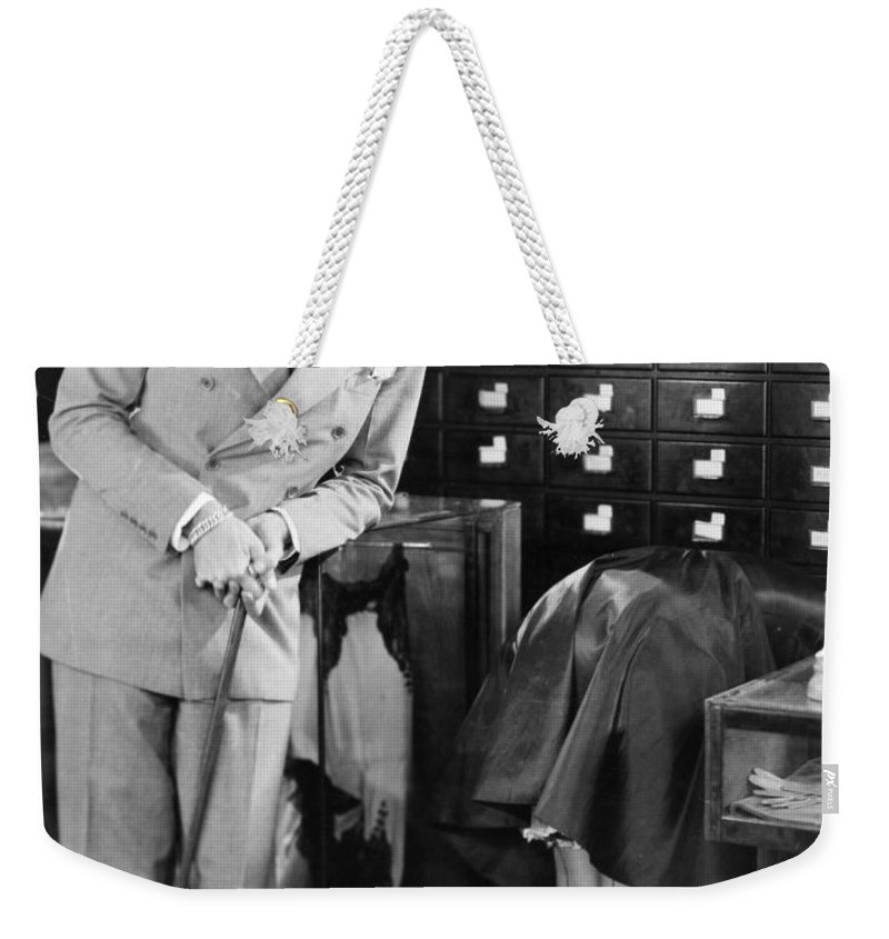 -stores- Weekender Tote Bag featuring the photograph Ladies Must Dress, 1927 by Granger