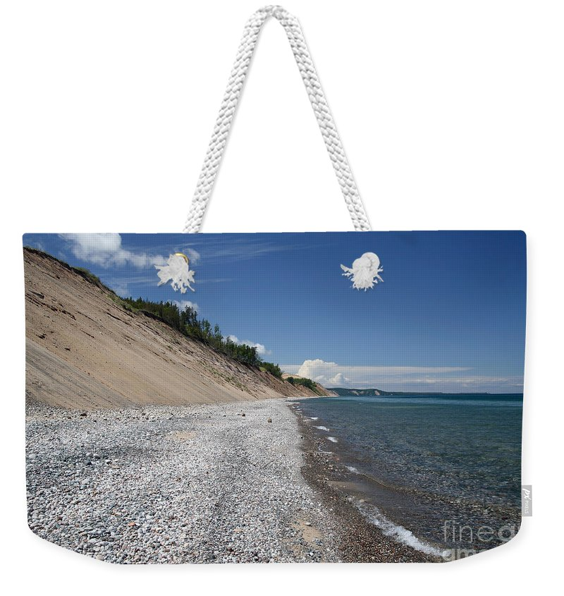 National Park Weekender Tote Bag featuring the photograph Lake Superior by Ted Kinsman
