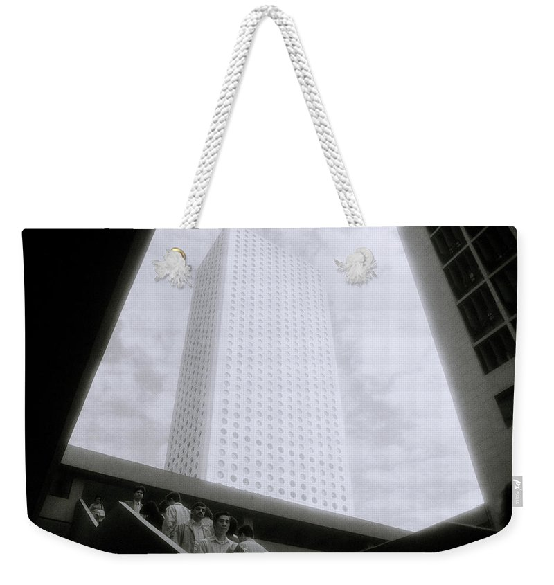 Asia Weekender Tote Bag featuring the photograph Life In Hong Kong by Shaun Higson