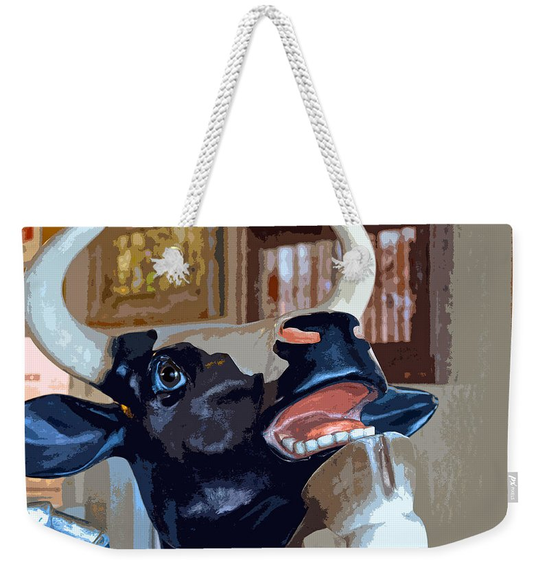 Animation Weekender Tote Bag featuring the photograph Life Of The Party by Bill Owen
