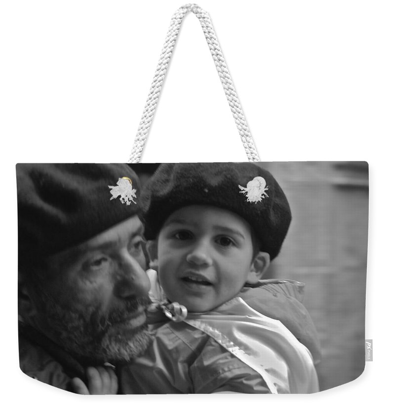 Father Weekender Tote Bag featuring the photograph Like Father Like Son by Eric Tressler