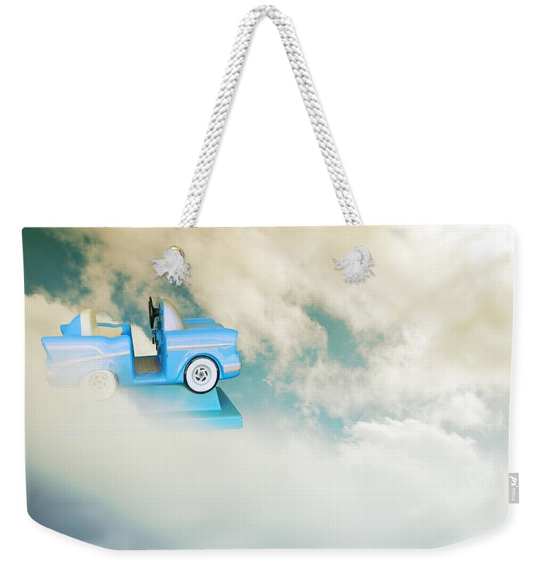 Imaginary Weekender Tote Bag featuring the photograph Little Dreams by Kathleen Grace